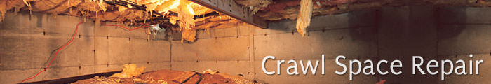 Crawl Space Repair in MB, including Selkirk, Portage La Prairie & Winnipeg.
